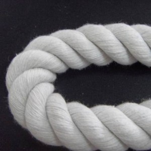 White Three Strand Rope